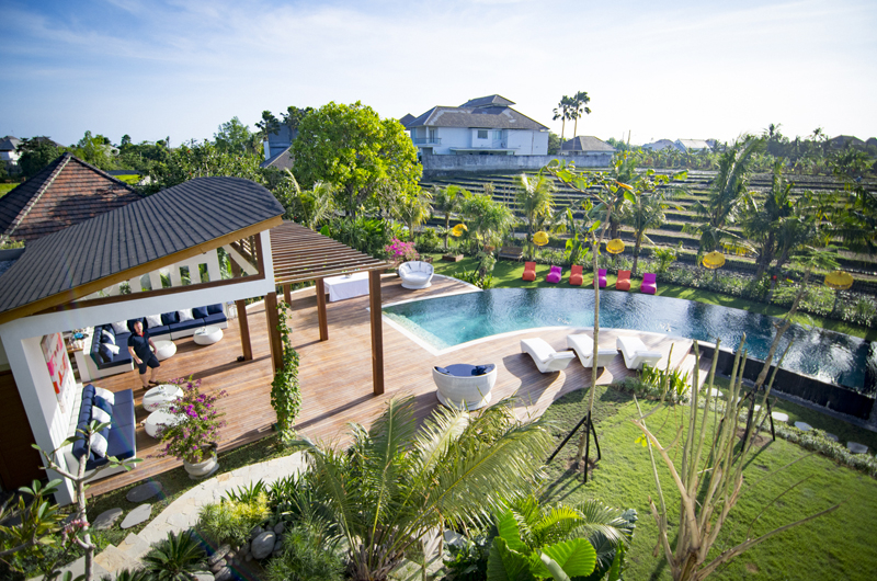 Top View - Villa Breeze - Canggu , Bali