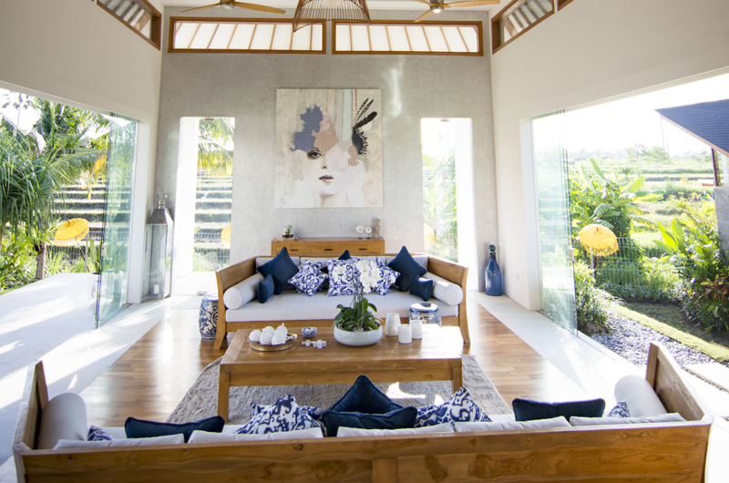Living Area - Villa Breeze - Canggu , Bali