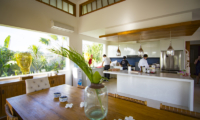 Kitchen and Dining Area - Villa Breeze - Canggu , Bali