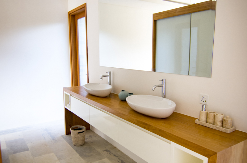 His and Hers Bathroom - Villa Breeze - Canggu , Bali