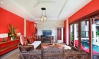 Living Area with TV - Villa Bukit Lembongan - Villa 1 - Nusa Lembongan, Bali