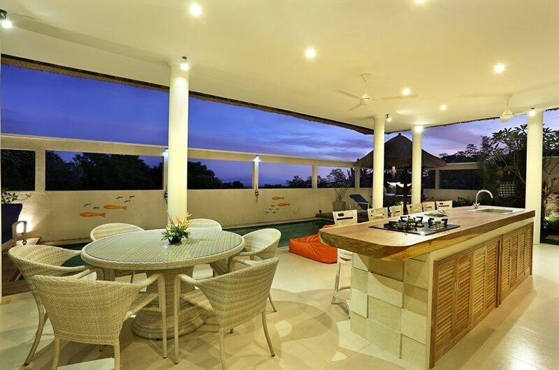 Kitchen and Dining Area - Villa Bukit Lembongan - Villa 2 - Nusa Lembongan, Bali