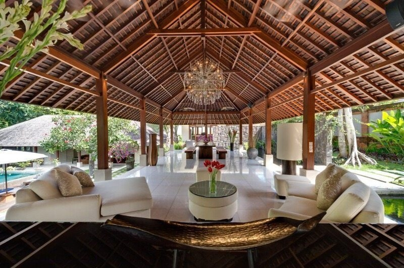 Indoor Living and Dining Area - Villa Bunga Pangi - Canggu, Bali