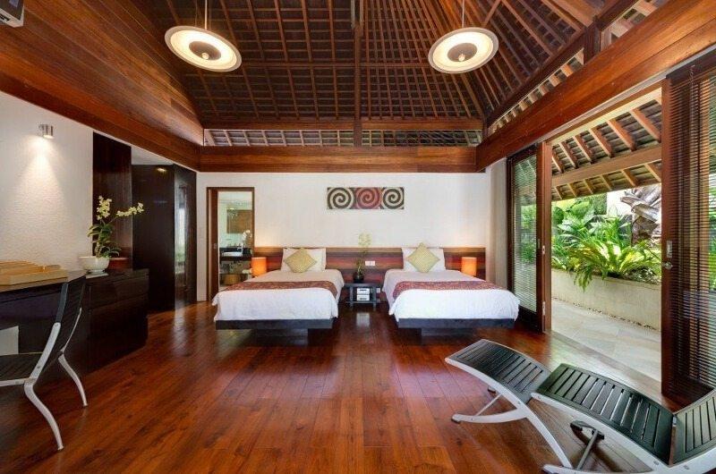 Twin Bedroom - Villa Bunga Pangi - Canggu, Bali