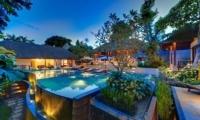 Gardens and Pool - Villa Bunga Pangi - Canggu, Bali