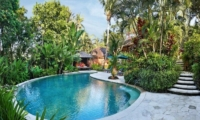 Gardens and Pool - Villa Bunga Wangi - Canggu, Bali
