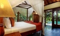 Bedroom with Pool View - Villa Bunga Wangi - Canggu, Bali