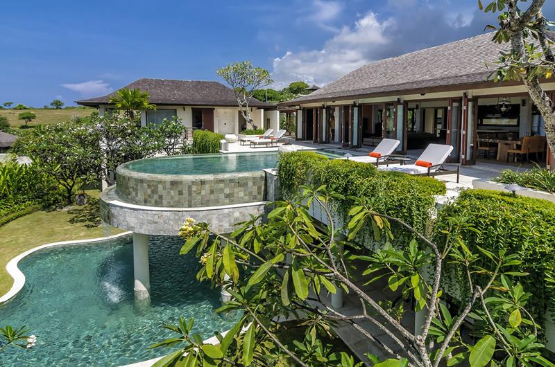 Pool Side - Villa Cantik Pandawa - Ungasan, Bali
