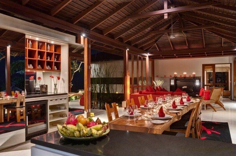 Dining Area - Villa Capung - Uluwatu, Bali