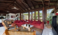 Lounge Area with TV - Villa Capung - Uluwatu, Bali