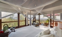 Bedroom with Mosquito Net - Villa Capung - Uluwatu, Bali