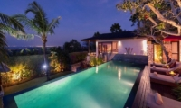Pool at Night - Villa Capung - Uluwatu, Bali
