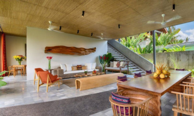 Living and Dining Area - Villa Casabama - Villa Casabama Panggung - Gianyar, Bali