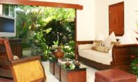 Lounge Area with TV - Villa Cemara Sanur - Sanur, Bali