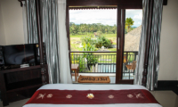 Bedroom and Balcony - Villa Cendrawasih Ubud - Villa Kasuari 1 - Ubud, Bali