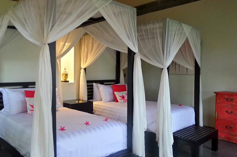 Twin Bedroom - Villa Condense - Ubud, Bali