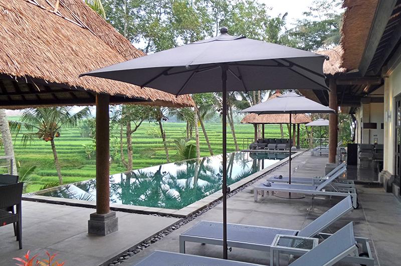 Sun Loungers - Villa Condense - Ubud, Bali