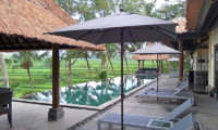 Pool Side Loungers - Villa Condense - Ubud, Bali