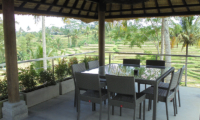 Dining Area with View - Villa Condense - Ubud, Bali