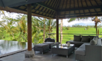 Pool Side Lounge - Villa Condense - Ubud, Bali
