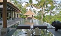 Pool Side Dining - Villa Condense - Ubud, Bali
