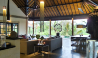 Living Area with Pool View - Villa Condense - Ubud, Bali