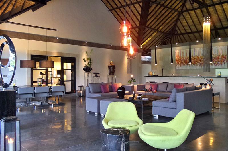 Indoor Living Area - Villa Condense - Ubud, Bali