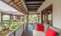 View from Balcony - Villa Coraffan - Canggu, Bali