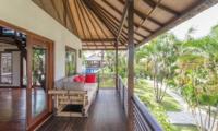 Balcony View - Villa Coraffan - Canggu, Bali
