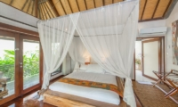 Bedroom and Balcony - Villa Coraffan - Canggu, Bali