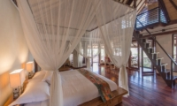 Bedroom with Up Stairs - Villa Coraffan - Canggu, Bali