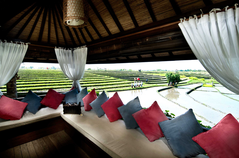 Lounge Area with View - Villa Coraffan - Canggu, Bali