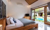Bedroom with Pool View - Villa Crystal - Seminyak, Bali