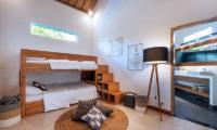 Bedroom with Bunk Beds - Villa Crystal - Seminyak, Bali