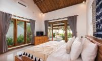 Bedroom with TV - Villa Crystal - Seminyak, Bali