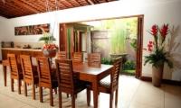 Kitchen and Dining Area - Villa Dewata I - Seminyak, Bali