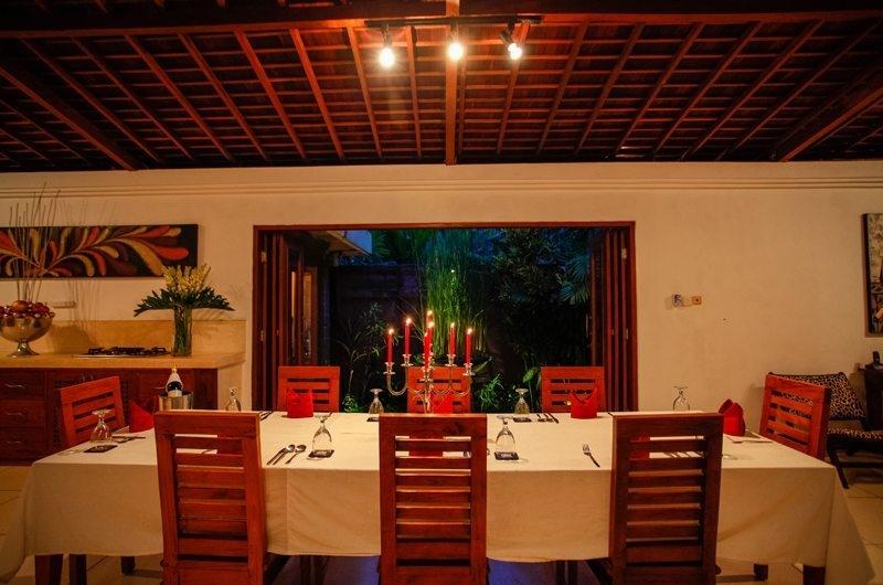 Dining Area - Villa Dewata I - Seminyak, Bali