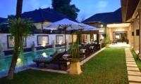 Pool Side - Villa Dewata II - Seminyak, Bali