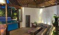 Living Area with Pool View - Villa Djukun - Seminyak, Bali