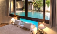 Bedroom with Pool View - Villa Djukun - Seminyak, Bali