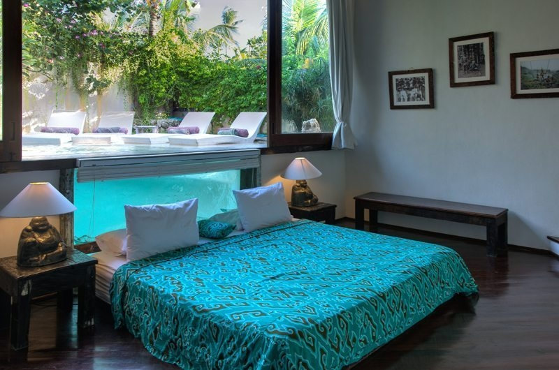 Bedroom with Outdoor View - Villa Djukun - Seminyak, Bali