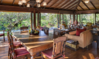 Living and Dining Area with Pool View - Villa East Indies - Pererenan, Bali