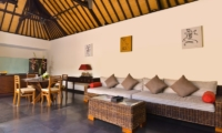 Living, Kitchen and Dining Area - Villa Elok - Batubelig, Bali