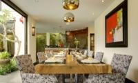 Dining Area - Villa Elok - Batubelig, Bali