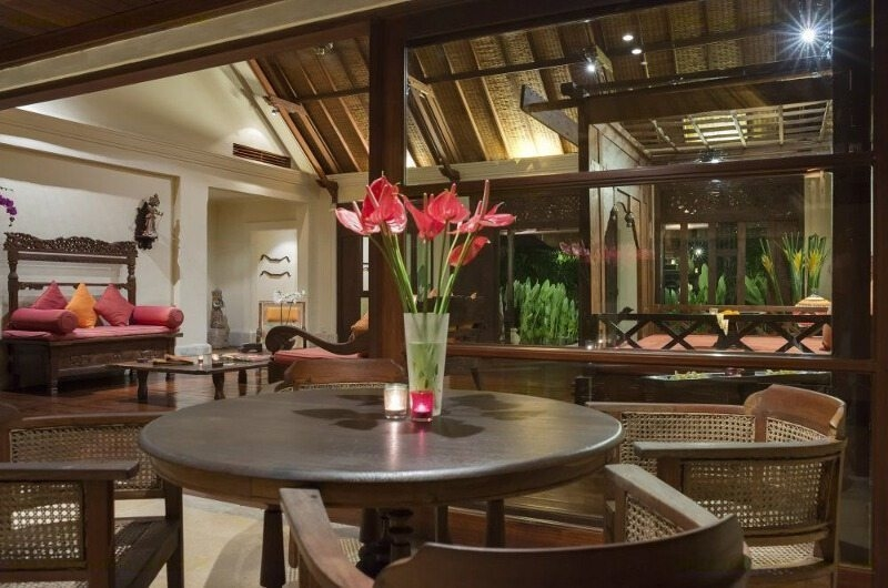 Living and Dining Area - Villa Frangipani - Canggu, Bali