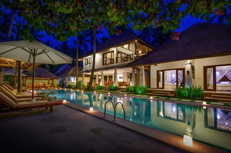 Pool Side - Villa Gils - Candidasa, Bali