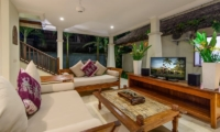 Lounge Area with TV - Villa Gils - Candidasa, Bali