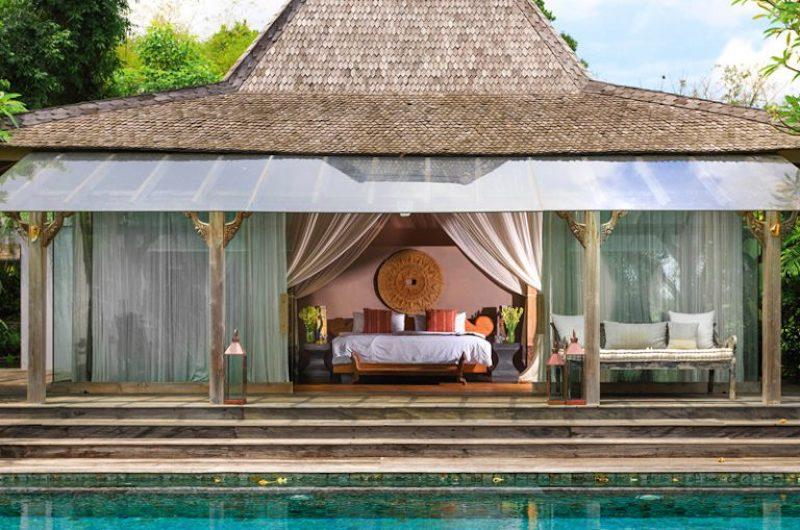 Bedroom View from Pool - Villa Hansa - Canggu, Bali