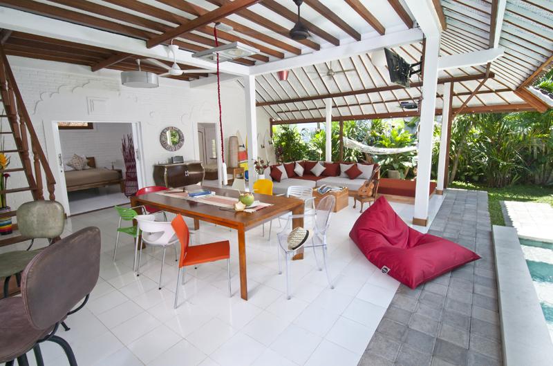 Living and Dining Area - Villa Hari - Seminyak, Bali