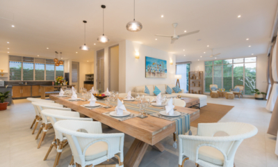 Living, Kitchen and Dining Area - Villa Hasian - Jimbaran, Bali